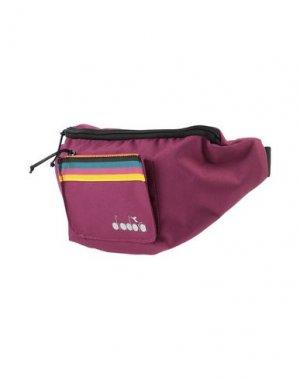 Рюкзаки и сумки на пояс DIADORA. Цвет: розовато-лиловый