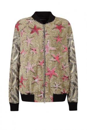 Куртка Dries Van Noten. Цвет: бежевый
