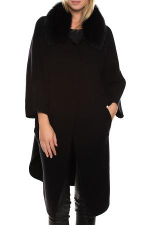 Пальто John & Yoko. Цвет: black