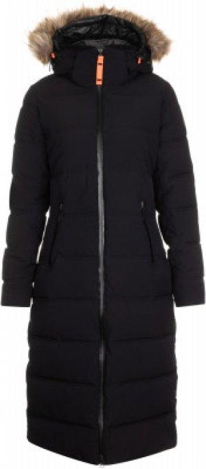 Пальто утепленное женское Brilon, размер 46 IcePeak. Цвет: черный