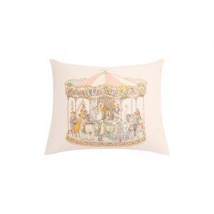 Хлопковая подушка Atelier Choux. Цвет: белый