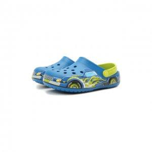 Сабо Truck Band Crocs. Цвет: разноцветный