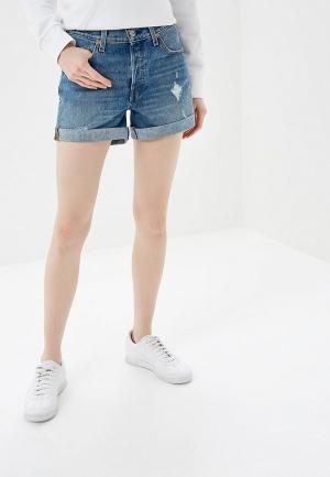Шорты джинсовые Levis® Levi's® 501® Long. Цвет: синий