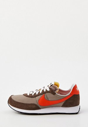 Кроссовки Nike WAFFLE TRAINER 2 (GS). Цвет: коричневый