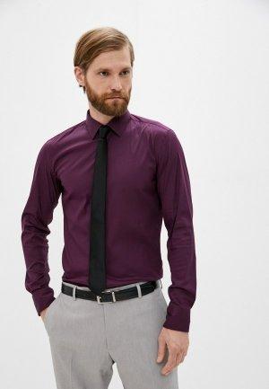 Рубашка Boss. Цвет: бордовый