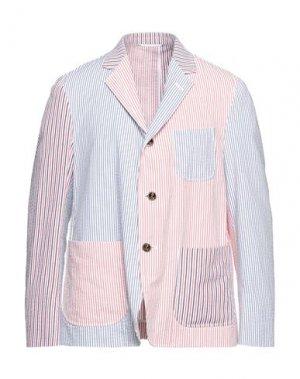 Пиджак THOM BROWNE. Цвет: белый