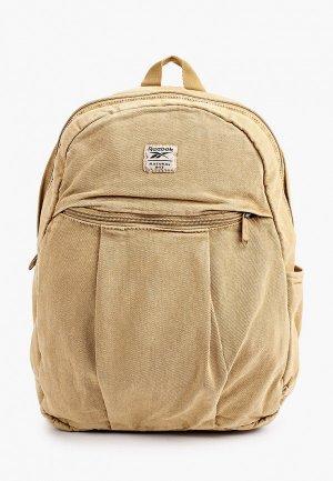 Рюкзак Reebok Classic CL FO JWF BACKPACK. Цвет: желтый