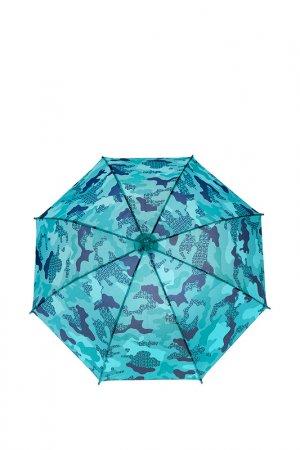Зонт-трость PlayToday. Цвет: разноцветный