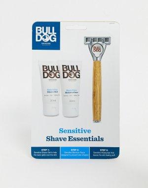 Набор для бритья Sensitive-Бесцветный Bulldog
