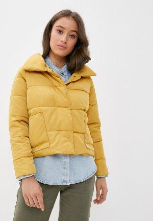 Куртка утепленная Grand Style. Цвет: желтый