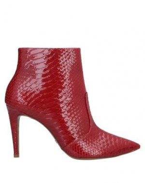 Полусапоги и высокие ботинки CECCONELLO. Цвет: красный
