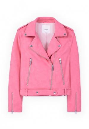Куртка Mango - MOON. Цвет: розовый
