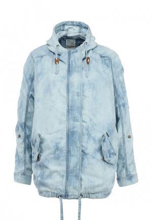 Куртка джинсовая Billabong MALA DENIM. Цвет: голубой