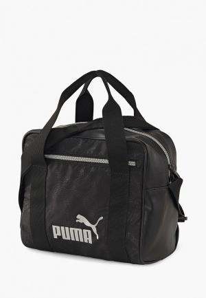 Сумка спортивная PUMA WMN Core Up Mini Duffle. Цвет: черный