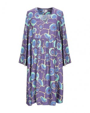 Короткое платье BINI Como. Цвет: фиолетовый