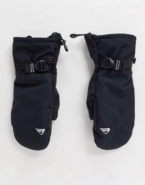 Черные перчатки для сенсорных гаджетов Omni-Heat-Черный Columbia
