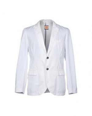 Пиджак BOSS HUGO. Цвет: белый