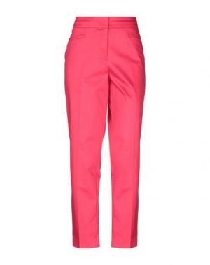 Повседневные брюки GARDEUR. Цвет: фуксия