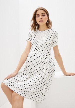 Платье Envie de Fraise. Цвет: белый