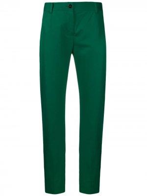 Укороченные брюки чинос Dolce & Gabbana. Цвет: зеленый
