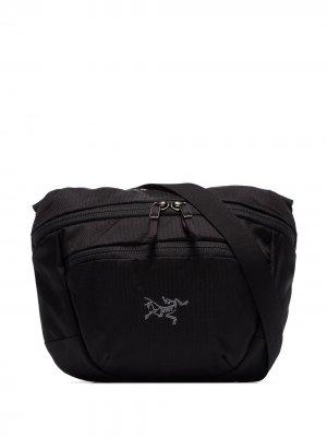 Arcteryx сумка через плечо Maka Arc'teryx. Цвет: черный