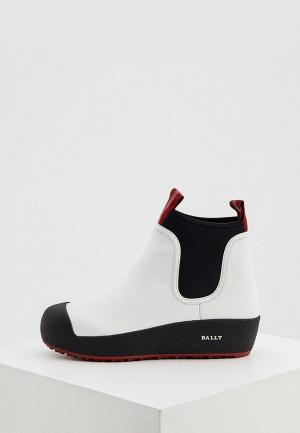 Ботинки Bally. Цвет: белый