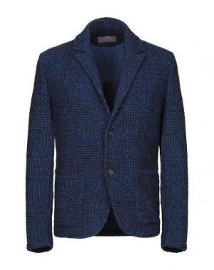 Пиджак DANIELE FIESOLI. Цвет: синий