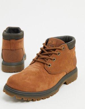 Коричневые ботинки чукка -Коричневый Helly Hansen