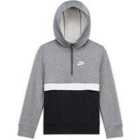 Худи с молнией на половину длины для мальчиков школьного возраста Sportswear Club Nike