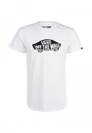 Футболка Vans OTW. Цвет: белый