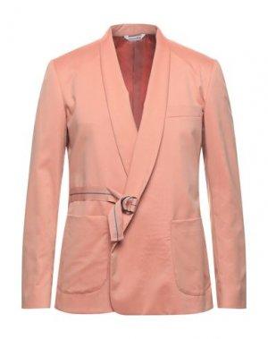 Пиджак YOON. Цвет: лососево-розовый
