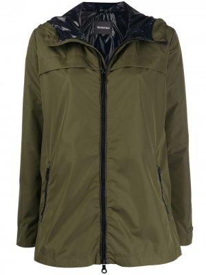 Легкая куртка с капюшоном Duvetica. Цвет: зеленый