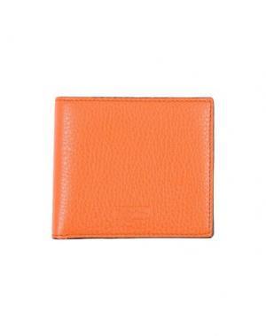 Бумажник MOSCHINO COUTURE. Цвет: оранжевый