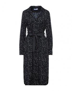Платье миди BEATRICE. Цвет: черный
