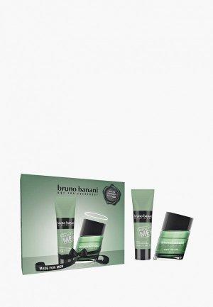 Набор парфюмерный Bruno Banani Made For Men, Туалетная вода 30 мл + гель для душа 50. Цвет: прозрачный