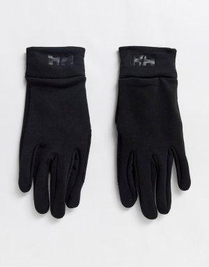Черные перчатки для сенсорных экранов -Черный Helly Hansen