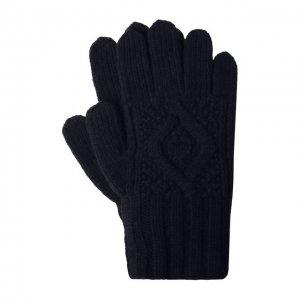 Кашемировые перчатки Ralph Lauren. Цвет: синий