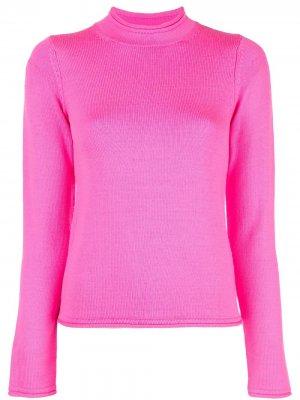 Пуловер с высоким воротником Opening Ceremony. Цвет: розовый