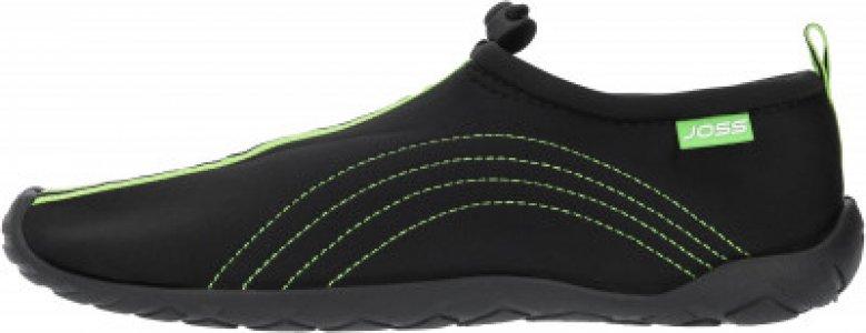 Тапочки коралловые мужские Aquashoes, размер 44 Joss. Цвет: черный