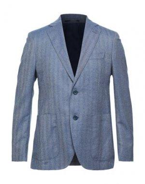 Пиджак ANGELO NARDELLI. Цвет: синий