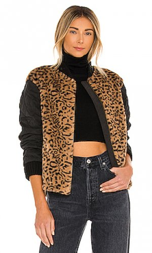 Куртка elina HEARTLOOM. Цвет: коричневый