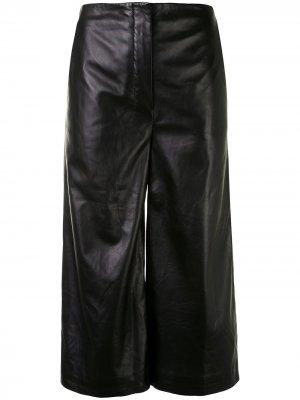 Укороченные брюки Sam Altuzarra. Цвет: черный