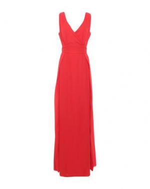 Длинное платье CASTING. Цвет: красный