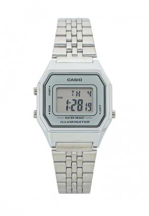 Часы Casio Collection LA680WEA-7E. Цвет: серебряный