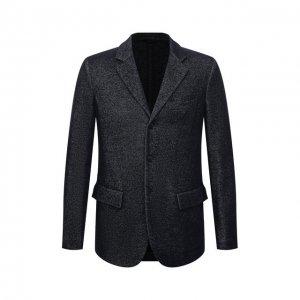 Джинсовый пиджак Giorgio Armani. Цвет: синий