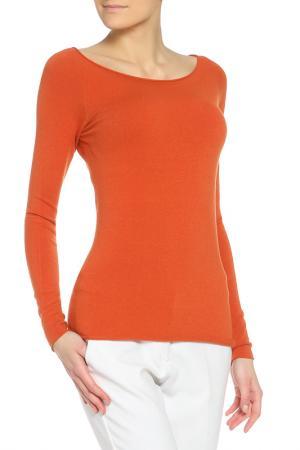 Джемпер BARBARA ALUISI. Цвет: оранжевый