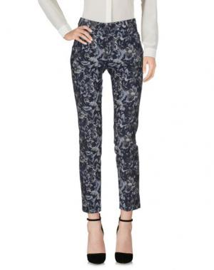 Повседневные брюки CAPPELLINI by PESERICO. Цвет: синий