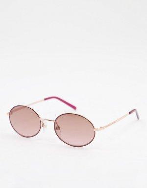 Круглые солнцезащитные очки 408/S-Розовый цвет Marc Jacobs