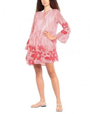 Пляжное платье AGOGOA. Цвет: красный