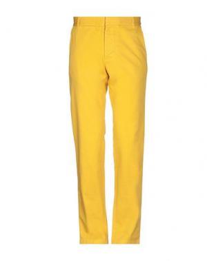 Повседневные брюки BAND OF OUTSIDERS. Цвет: желтый